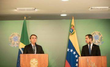 Guaidó, con más apoyo: se reúne en Brasil con Bolsonaro