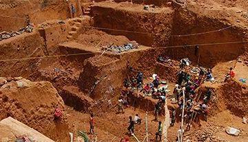 40 personas siguen atrapadas en mina de oro en Liberia