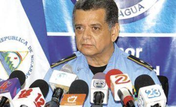 El jefe policial admite infiltración de la Policía en una protesta contra Ortega