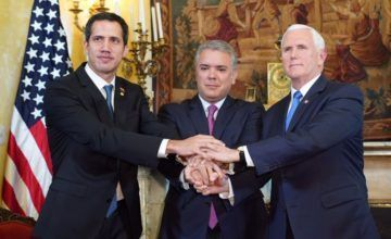 Pence anuncia nuevas sanciones contra gobierno en disputa de Maduro