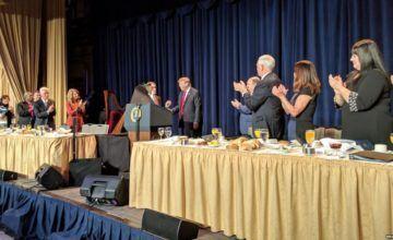 """Trump: """"siempre protegeré a los creyentes"""" durante Desayuno Nacional de Oración"""