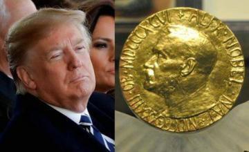 Trump dice que merece el Premio Nobel de la Paz, se queja de que nunca lo recibirá