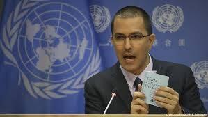 Canciller de Maduro arremete en la ONU contra la oposición