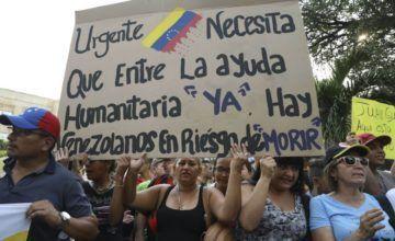 Guaidó convoca a conferencia mundial sobre crisis humanitaria en Venezuela