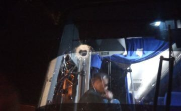 Venezuela: Atacan con piedras a bus de caravana de diputados que se dirige a frontera de Colombia