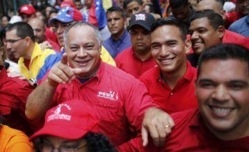 """Diosdado Cabello advierte con una """"guerra irregular"""" si Venezuela es invadida"""