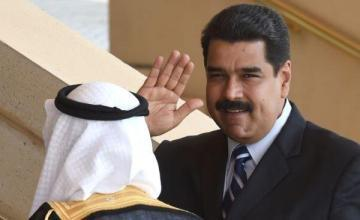 Maduro valora huir a países árabes o del este de Europa