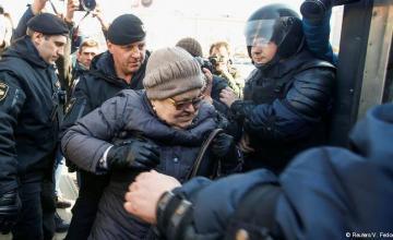 Estallan protestas contra el presidente en Bielorrusia