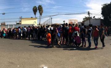 Piden a CBP informe sobre espionaje a caravana migrante