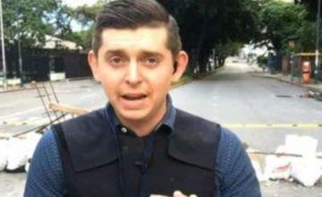 Venezuela libera a reportero de EEUU detenido por la contrainteligencia (Video)