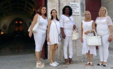 Damas de Blanco vuelven a Santa Rita, la iglesia que siempre las acogió