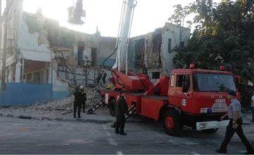 Derrumbe deja un muerto y varias familias sin hogar en La Habana