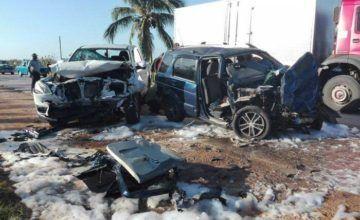 Otro accidente deja un fallecido y cuatro heridos en Jatibonico