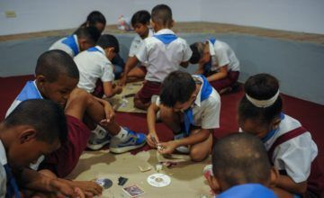 Brote de tiña en Candelaria afecta a decenas de niños