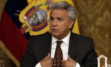 """Denuncia Lenín Moreno """"injerencia"""" de Correa y Maduro en Ecuador"""