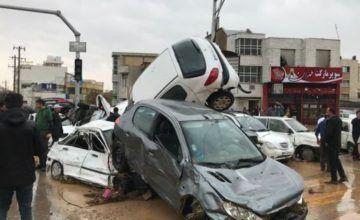 Inundaciones en el sur de Irán provocan 17 muertes