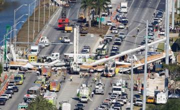 Se declara en bancarrota la constructora del puente que colapsó en Miami