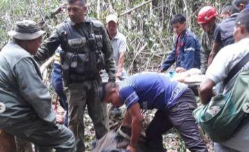 Primo de Padrino se estrelló en avioneta que extrajo oro ilegal en Bolívar