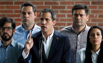 """Guaidó: """"Como no pueden llevarse preso al presidente encargado, buscan apresar a los más cercanos"""""""