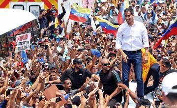 """Guaidó llama a prepararse para """"fase máxima de presión"""" contra Maduro"""