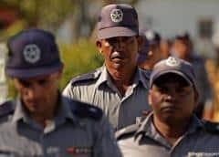 Choque entre efectivos del Ministerio del Interior cubano y estudiantes congoleses