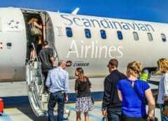 Huelga de Scandinavian Airlines causa estragos