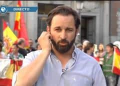 Abascal: «La unidad de España ni se discute, ni se vota: se defiende»