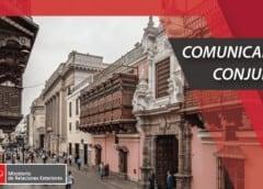 Comunicado del Grupo de Lima sobre Venezuela.