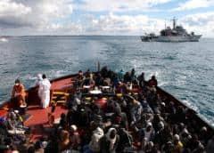 Francia aceptará 20 migrantes en mar de Malta