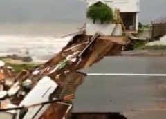 Inundaciones y aludes de lodo causan 33 muertos en Sudáfrica