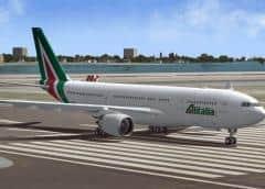 Alitalia cancela más de 280 vuelos por una huelga del sector aéreo en Italia