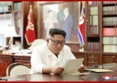 """Según Norcorea, Kim recibió una carta """"excelente"""" de Trump"""