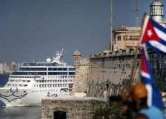 """Exiliados cubanos se muestran """"contentos"""" por prohibición a cruceros"""