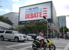 Demócratas sorprenden luciendo su español en el primer debate en Miami