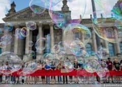 """""""Fridays for Future"""": ecologistas bloquean el Parlamento alemán"""