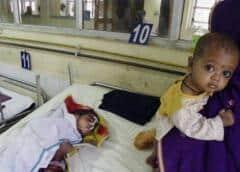 Aumentan a 114 las muertes por brote de encefalitis en India