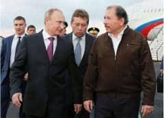Nicaragua dona a Rusia una propiedad en una zona exclusiva de Managua