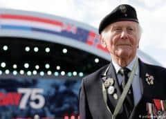"""Veteranos y líderes mundiales conmemoran los 75 años del """"Día D"""""""
