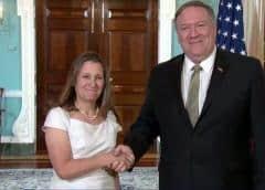 EEUU y Canadá lamentan rol desestabilizador de Cuba en Venezuela