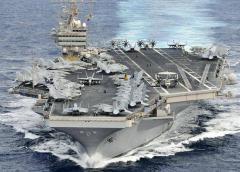 Portaviones de EEUU sigue fuera del Golfo Pérsico