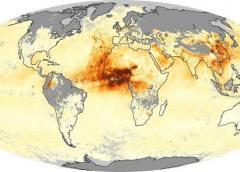 Fuertes tomentas el fin de semana pudieran mantener alejada una enorme nube de polvo del Sahara