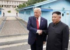 Trump y Kim Jong-un se encuentran en zona desmilitarizada coreana