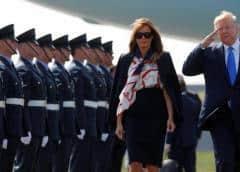 Trump llega a Londres para visita de Estado precedida por la polémica
