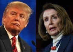 """Trump agradece acuerdo a México, Pelosi dice que con """"berrinches"""" no se negocia política exterior"""