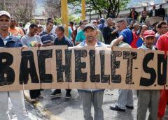Bachelet en Caracas: protestas para evidenciar la crisis