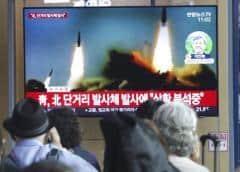 Corea del Norte dispara dos misiles, denuncia Corea del Sur