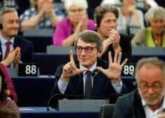 Eurocámara elige a socialdemócrata italiano Sassoli como su nuevo presidente