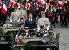 Macron se rodea de sus socios europeos en las festividades del 14 de julio