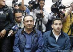 Guatemala: piden cárcel para hermano e hijo del presidente