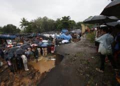 India: lluvias del monzón derriban muros, dejan 27 muertos
